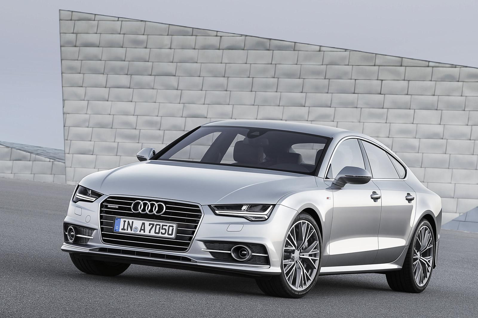 2015 Audi A7 & S7 Sportback Photos