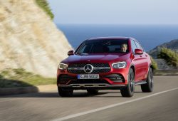 The 2019 Mercedes-Benz GLC coupé